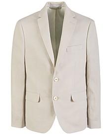 Big Boys Classic-Fit Linen Suit Jacket