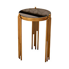 Spade Gold Accent Table, Quick Ship