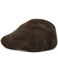 Sean John Men's Fitted Canvas Ivy Hat