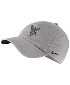 Nike West Virginia Mountaineers H86 Washed Strapback Cap