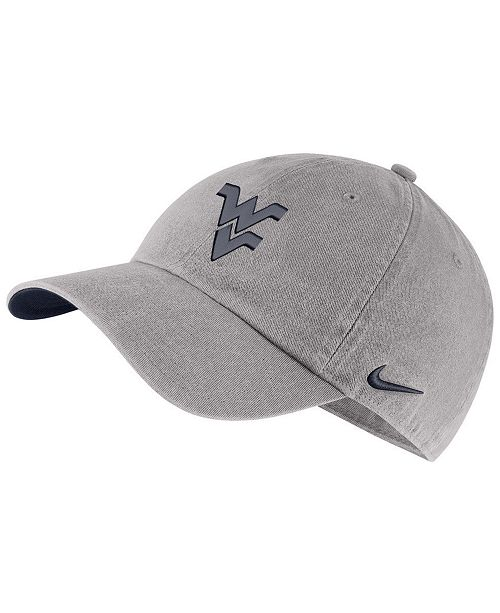 the latest 03104 795f0 ... Nike West Virginia Mountaineers H86 Washed Strapback Cap ...