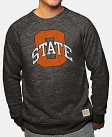 Retro Brand Men's Oklahoma State Cowboys Big Logo Crew Sweatshirt