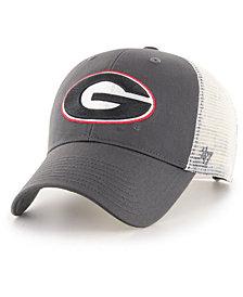 '47 Brand Georgia Bulldogs Branson Mesh Trucker Snapback Cap