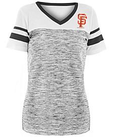 Women's San Francisco Giants Space Dye Back T-Shirt