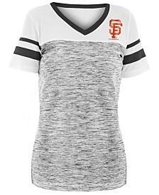 5th & Ocean Women's San Francisco Giants Space Dye Back T-Shirt