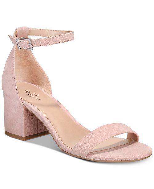 4de64c57262 Call It Spring Stangarone Block-Heel Sandals   Reviews - Sandals ...