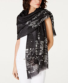 kate spade new york Skyline Oblong Scarf