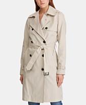 62efd78dc35 Lauren Ralph Lauren Double-Breasted Trench Coat