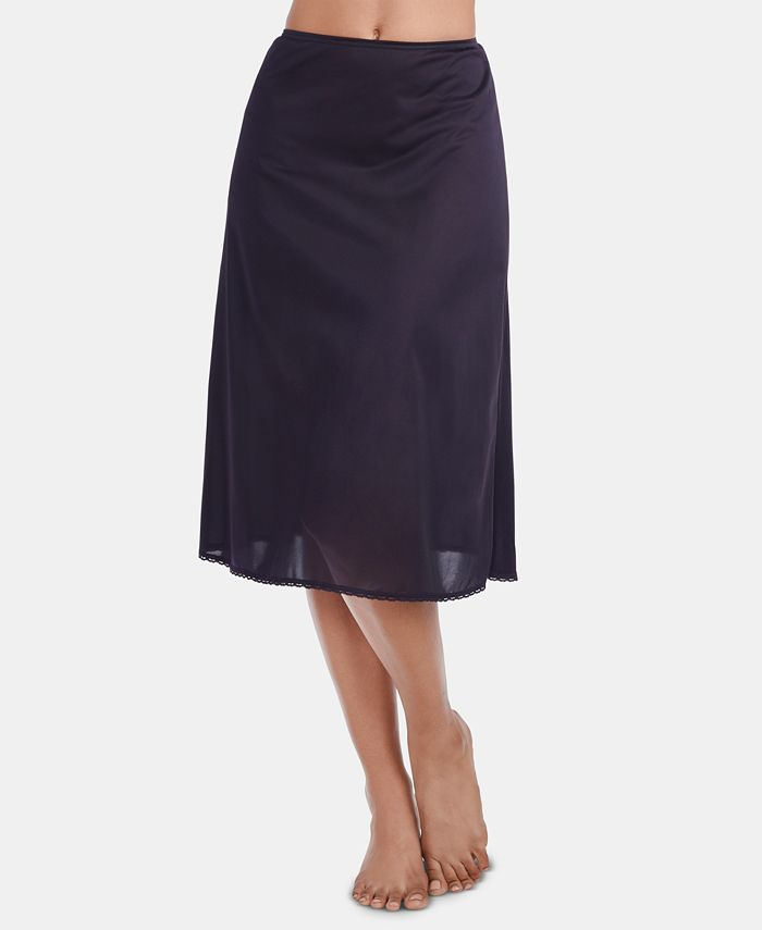 "Vanity Fair - ""Daywear Solutions"" A-Line Satin Glance Half Slip"
