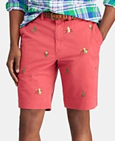 9feaf6db7b Polo Ralph Lauren Men's Big & Tall Stretch Straight Fit Embroidered Shorts