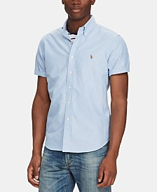 Polo Ralph Lauren Men's Big & Tall Classic Fit Striped  Shirt