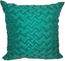 Lattice Decorative Throw Pillow