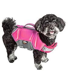 Dog Helios 'Tidal Guard' Reflective Pet Dog Life Jacket Vest
