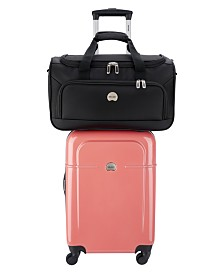 CLOSEOUT! Delsey Air Quest Carry-On Spinner with Bonus Duffel, Created for Macy's