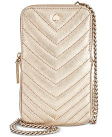 kate spade new york Amelia Quilted Leather Phone Crossbody