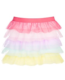 Epic Threads Little Girls Rainbow Ruffle Skirt, Created for Macy's