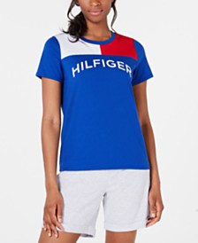 Tommy Hilfiger Sport Colorblocked-Yoke Logo T-Shirt