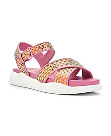 Pilly Strappy Flat Sandals
