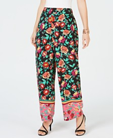 Thalia Sodi Wide-Leg Pants, Created for Macy's