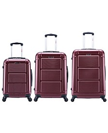 Pilot 3-Pc. Lightweight Hardside Spinner Luggage Set