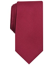 Nautica Men's Dillon Solid Slim Silk Tie