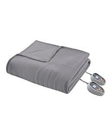 Knit Micro-Fleece Full Electric Blanket