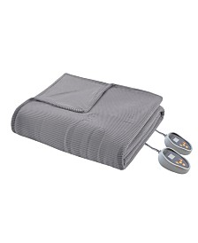 Beautyrest Knit Micro-Fleece Twin Heated Blanket