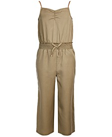 Big Girls Smocked-Waist Jumpsuit Created for Macy's
