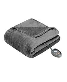 Beautyrest Microlight Berber Queen Heated Blanket