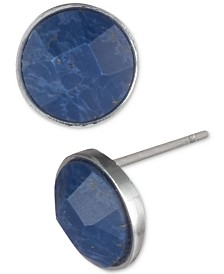 Lauren Ralph Lauren Stone Button Earrings