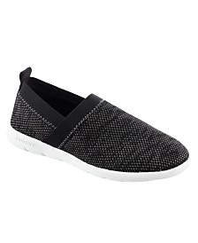 Zenz from isotoner Women's Elastic Sport Knit Elastic Slip-On