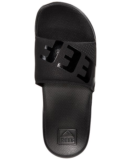 de42d5c801fa REEF Men s One Slide Sandals   Reviews - All Men s Shoes - Men - Macy s