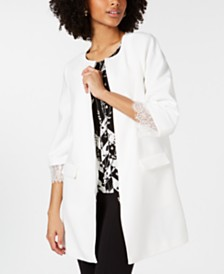 Alfani Lace-Cuff Jacket, Created for Macy's