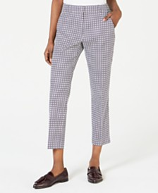 Weekend Max Mara Tenzone Printed Cropped Trousers