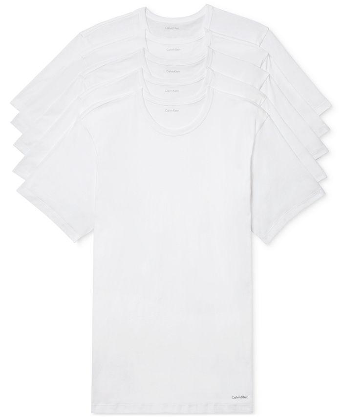 Calvin Klein - Men's 5-Pk. Cotton Classics T-Shirts