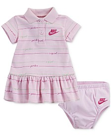 Nike Baby Girls Printed Polo Dress