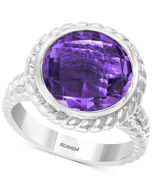EFFY Collection EFFY® Amethyst Ring (5-3/4 ct. t.w.) Ring in Sterling Silver