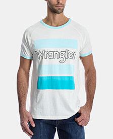 Wrangler Men's Logo Graphic Ringer T-Shirt