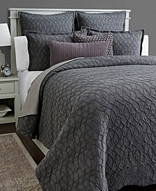 CLOSEOUT! Interlock Cotton Duvet Covers, Created for Macy's