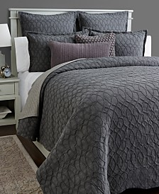 Hotel Collection Interlock Cotton Duvet Covers, Created for Macy's