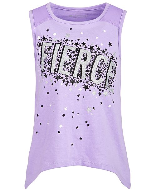 Ideology Toddler Girls Fierce-Print Tank Top, Created for Macy's