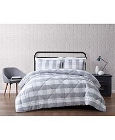 Everyday Buffalo Plaid King Comforter Set