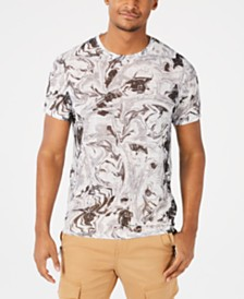 GUESS Men's Wynn Marble T-Shirt