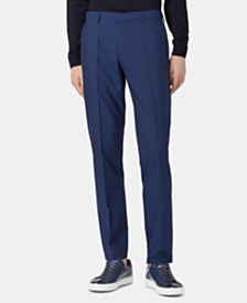 BOSS Men's Genesis4 Slim-Fit Virgin Wool Trousers