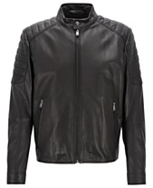 3369c4017bf BOSS Men s Galini Regular-Fit Lambskin Leather Jacket