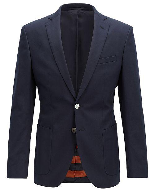 2335d044 Hugo Boss BOSS Men's Extra-Slim Fit Jacket - Blazers & Sport Coats ...