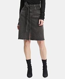 Levi's® Self-Tie Denim Skirt