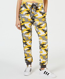 Ultra Flirt Juniors' Camo Printed Sweatpants
