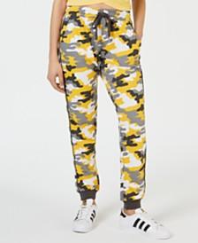 Ultra Flirt Juniors' Camo Printed Sweatpants