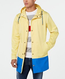 Lauren Ralph Lauren Men's Classic-Fit Colorblocked Raincoat